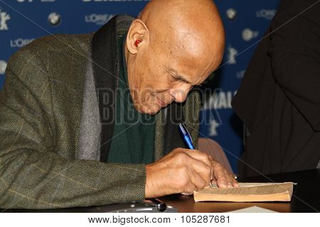 BERLIN, GERMANY - FEBRUARY 12: Actor and singer Harry Belafonte attends the 'Sing Your Song' Photo call during  of the 61st Berlin  Film Festival at the Grand Hyatt on February 12, 2011 in Berlin, Germany.