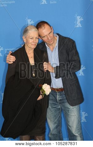 BERLIN, GERMANY - FEBRUARY 14: Actors Vanessa Redgrave, Ralph Fiennes attend the 'Coriolanus' Photocall during  of the 61 Berlin  Festival at the Grand Hyatt on February 14, 2011 in Berlin, Germany.