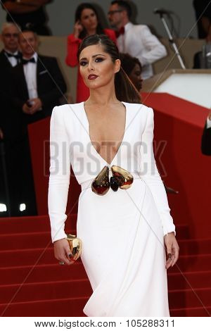 CANNES, FRANCE - MAY 13: Singer Cheryl Cole attends the 'Habemus Papam' premiere at the Palais des Festivals during the 64th Cannes Film Festival on May 13, 2011 in Cannes, France