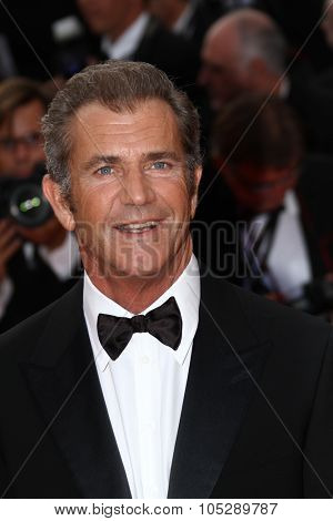 CANNES, FRANCE - MAY 17: Actor Mel Gibson attends 'The Beaver' premiere at the Palais des Festivals during the 64 Cannes Film Festival on May 17, 2011 in Cannes, France