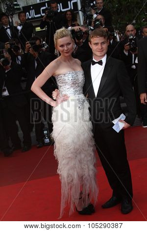 CANNES, FRANCE - MAY 22: Kirsten Dunst attends the 'Les Bien-Aimes' premiere at the Palais des Festivals during the 64th Cannes Film Festival on May 22, 2011 in Cannes, France