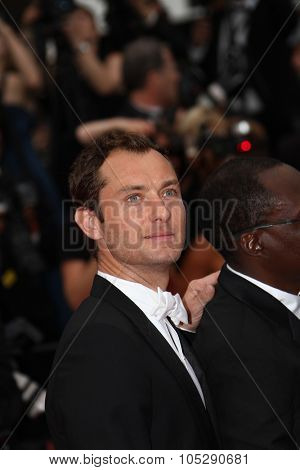CANNES, FRANCE - MAY 22: Jude Law attends the 'Les Bien-Aimes' premiere at the Palais des Festivals during the 64th Cannes Film Festival on May 22, 2011 in Cannes, France