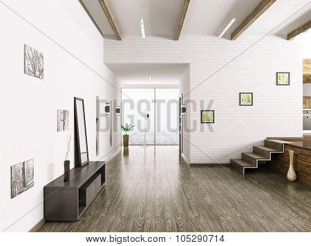 Interior Of Hall