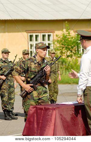 Russian army