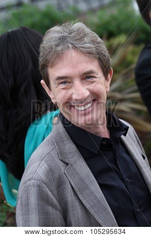 CANNES, FRANCE - MAY 18: Martin Short poses at the 'Madagascar 3: Europe's Most Wanted Photocall' during the 65th  Cannes Festival at Palais des Festivals on May 18, 2012 in Cannes, France.