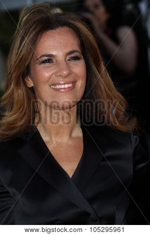 CANNES, FRANCE - MAY 19: Roberta Armani attends the 'Lawless' Premiere attends the 'Lawless' Premiere during the 65th  Cannes  Festival at Palais des Festivals on May 19, 2012 in Cannes, France.