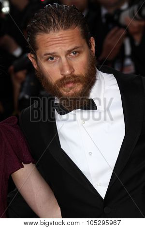 CANNES, FRANCE - MAY 19:  Tom Hardy attends the 'Lawless' Premiere attends the 'Lawless' Premiere during the 65th  Cannes  Festival at Palais des Festivals on May 19, 2012 in Cannes, France.