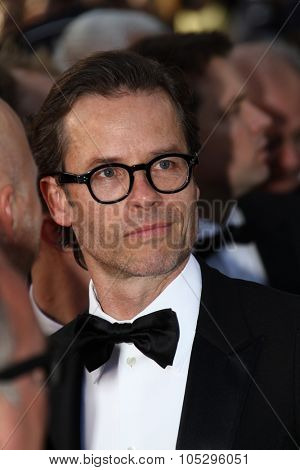 CANNES, FRANCE - MAY 19: Guy Pearce attends the 'Lawless' Premiere attends the 'Lawless' Premiere during the 65th  Cannes  Festival at Palais des Festivals on May 19, 2012 in Cannes, France.
