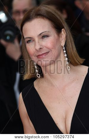 CANNES, FRANCE - MAY 21: Carole Bouquet  attends the 'Vous N'avez Encore Rien Vu' premiere during the 65th  Cannes  Festival at Palais des Festivals on May 21, 2012 in Cannes, France