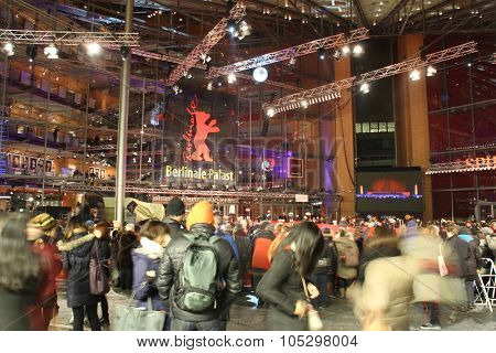BERLIN, GERMANY - FEBRUARY 7: Berlinale Palast, the main venue at the 63th Berlinale International Film Festival on February 7, 2013 in Berlin, Germany