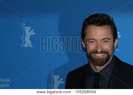 BERLIN, GERMANY - FEBRUARY 09: Hugh Jackman  attends the 'Les Miserables' Photocall during the 63rd Berlinale International Film Festival at Grand Hyatt Hotel on February 9, 2013 in Berlin, Germany