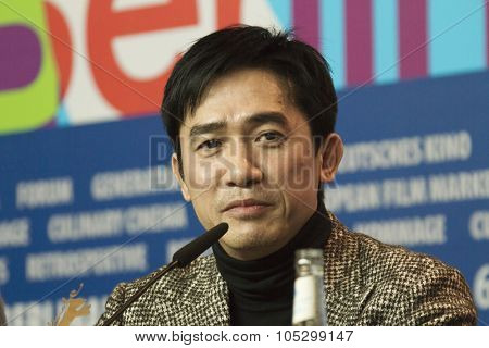BERLIN, GERMANY - FEBRUARY 07: Tony Leung Chiu Wai attends 'The Grandmaster' Press Conference during the 63rd Berlinale Film Festival at the Grand Hyatt on February 7, 2013 in Berlin, Germany.