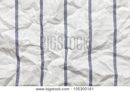 Blue And White Texture Fabric Cotton Background