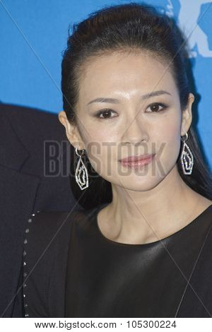 BERLIN, GERMANY - FEBRUARY 07:  Ziyi Zhang attends 'The Grandmaster' Photocall during the 63rd Berlinale Film Festival at The  Hyatt Hotel on February 7, 2013 in Berlin, Germany