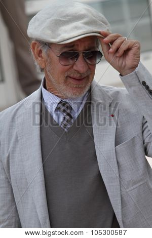 CANNES, FRANCE - MAY 15: Steven Spielberg attends the Jury Photocall during the 66th Annual Cannes Film Festival at the Palais des Festivals on May 15, 2013 in Cannes, France.