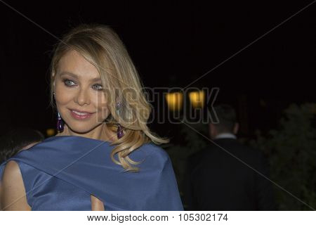 ANTIBES, FRANCE - MAY 21: Ornella Muti  attends the de Grisogono Party during the 66th International Cannes Film Festival at Hotel Du Cap on May 21, 2013 in Antibes, France.