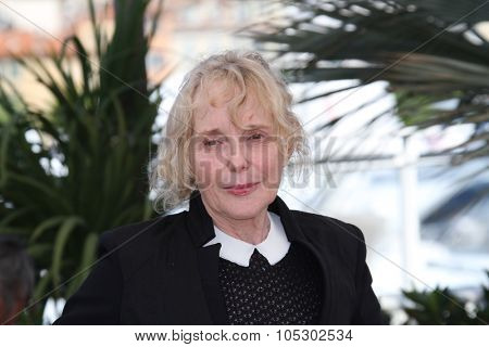 CANNES, FRANCE - MAY 22: Claire Denis attends the 'Les Salauds' Photocall during the 66th Annual Cannes Film Festival on May 22, 2013 in Cannes, France.