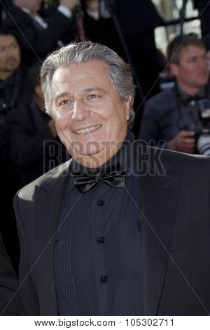 CANNES, FRANCE - MAY 23: Christian Clavier attends the 'Nebraska' premiere during The 66th Cannes Film Festival at the Palais des Festival on May 23, 2013 in Cannes, France.