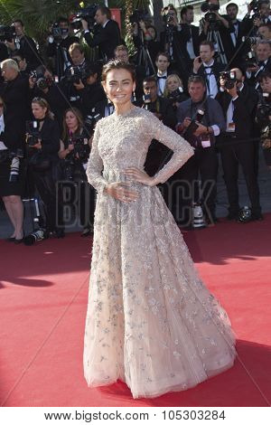 CANNES, FRANCE - MAY 25: Saadet Aksoy arrives at 'Venus In Fur' Premiere during the 66th Annual Cannes Film Festival at Grand Theatre Lumiere on May 25, 2013 in Cannes, France.