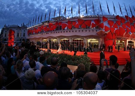 VENICE, ITALY - SEPTEMBER 01:  A general view of atmosphere during the 70th Venice Film Festival at the Palazzo  on September 1, 2013 in Venice, Italy.