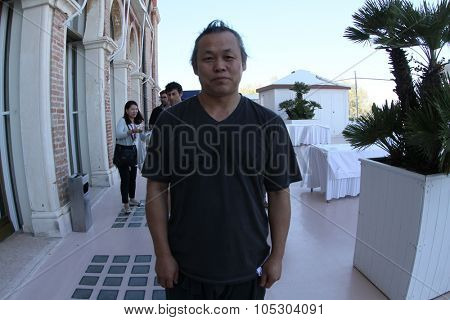 VENICE, ITALY - SEPTEMBER 02: Kim Ki-duk attends the  Photocall during the 70th Venice International Film Festival at the Palazzo del Casino on September 2, 2013 in Venice, Italy.