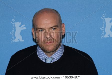 BERLIN, GERMANY - FEBRUARY 09:   John Michael McDonagh attends the 'Calvary' photocall during 64th Berlinale  Film Festival at Grand Hyatt Hotel on February 9, 2014 in Berlin, Germany