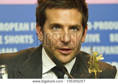 BERLIN, GERMANY - FEBRUARY 07: Bradley Cooper attends the 'American Hustle' press conference during 64th Berlinale  Film Festival at Grand Hyatt Hotel on February 7, 2014 in Berlin, Germany.