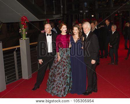 BERLIN, GERMANY - FEBRUARY 14:  Lea Seydoux attends the 'La belle et la bete' (Die Schoene und das Biest) premiere during 64th Berlinale Festival at Palast on February 14, 2014 in Berlin, Germany.