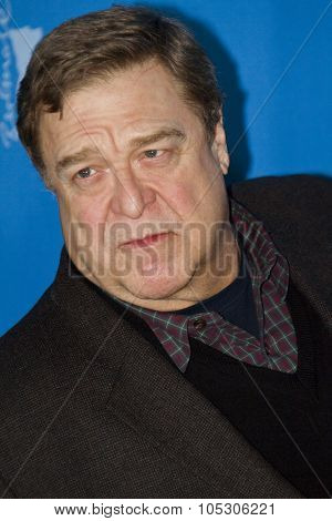 BERLIN, GERMANY - FEBRUARY 08: John Goodman attends 'The Monuments Men' photocall during 64th Berlinale International Film Festival at Grand Hyatt Hotel on February 8, 2014 in Berlin, Germany.