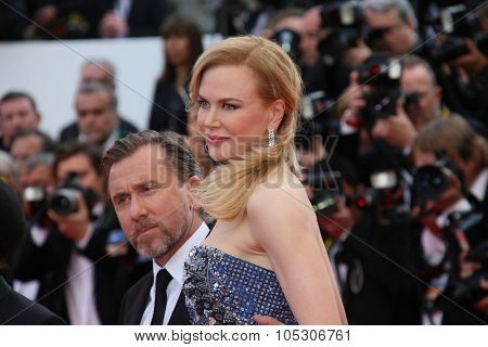 CANNES, FRANCE - MAY 14: Nicole Kidman attends the opening ceremony and 'Grace of Monaco' premiere at the 67th Annual Cannes Film Festival on May 14, 2014 in Cannes, France.