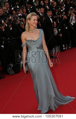 CANNES, FRANCE - MAY 16: Naomi Watts attends the 'How To Train Your Dragon 2' premiere during the 67th Annual Cannes Film Festival on May 16, 2014 in Cannes, France.