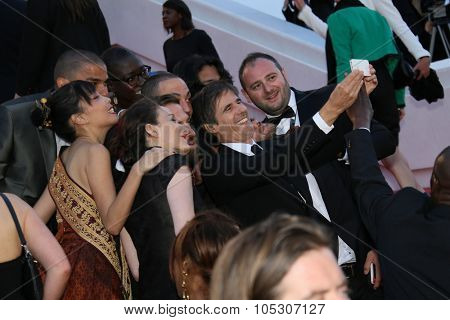 CANNES, FRANCE - MAY 16: Walter Salles attends the 'How To Train Your Dragon 2' premiere during the 67th Annual Cannes Film Festival on May 16, 2014 in Cannes, France.