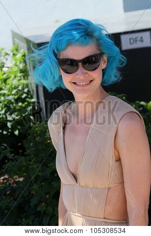 CANNES, FRANCE - MAY 17: Nanna Oland Fabricius  attends the 'The Salvation' photocall at the 67th Annual Cannes Film Festival on May 17, 2014 in Cannes, France.