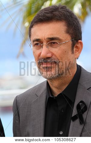 CANNES, FRANCE - MAY 16: Director Nuri Bilge Ceylan attends the 'Winter Sleep' photocall at the 67th Annual Cannes Film Festival on May 16, 2014 in Cannes, France.