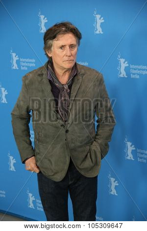 BERLIN, GERMANY - FEBRUARY 5:  Gabriel Byrne poses during the photocall for the 'Nadie quiere la noche' (Nobody Wants the Night) presented at the 65th Film Festival in Berlin, on February 5, 2015.