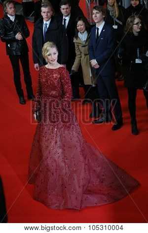 FEBRUARY 08: Elizabeth Banks attends the 'Love & Mercy' premiere during the 65th Berlinale  Film Festival at Friedrichstadt-Palast on February 8, 2015 in Berlin, Germany.