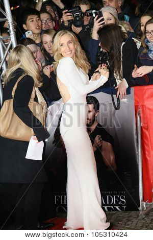 BERLIN, GERMANY - FEBRUARY 11:  Sam Taylor-Johnson attends the 'Fifty Shades of Grey' premiere during the 65th Berlinale Film Festival at Zoo Palast on February 11, 2015 in Berlin, Germany.