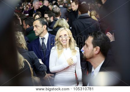 BERLIN, GERMANY - FEBRUARY 11:   Sam Taylor-Johnson attends the 'Fifty Shades of Grey' premiere during the 65th Berlinale Festival at Zoo Palast on February 11, 2015 in Berlin, Germany.