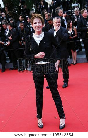 Natacha Polony attends the 'Macbeth' Premiere during the 68th annual Cannes Film Festival on May 23, 2015 in Cannes, France.