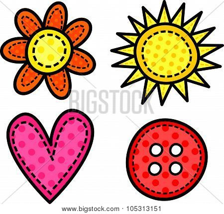 Stitch Doodle Icons