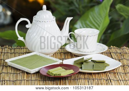 Group Of Product Matcha Green Tea Chocolate