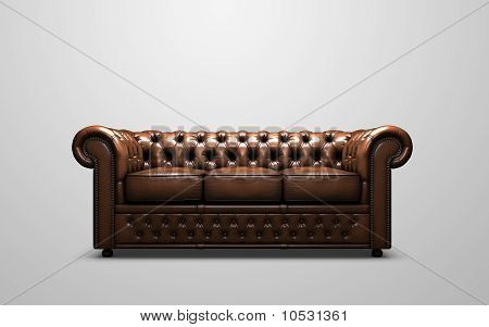 Chesterfield Antik Sofa