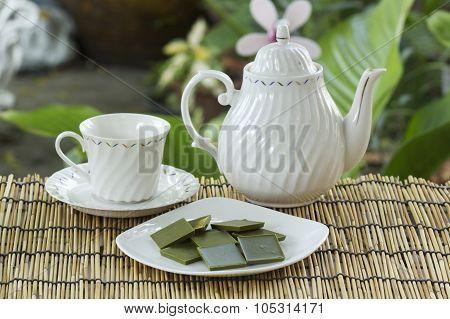 Matcha Green Tea Chocolate