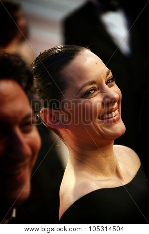 Cannes, France -  May 22, 2015: Actress Marion Cotillard attends the 'Little Prince' Premiere during the 68th annual Cannes Film Festival on May 22, 2015 in Cannes, France.