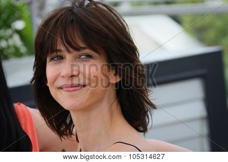 Sophie Marceau attends the Jury photocall during the 68th annual Cannes Film Festival on May 13, 2015 in Cannes, France.