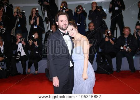 Drake Doremus attends the premiere of 'Equals' during the 72nd Venice Film Festival at Sala Grande on September 5, 2015 in Venice, Italy.