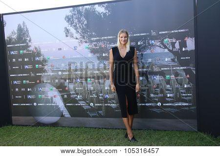 Mimmi Gunnarsson attends a photocall for 'Viva la Sposa' during the 72nd Venice Film Festival at Villa degli Autori on September 7, 2015 in Venice, Italy.