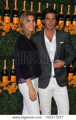 LOS ANGELES - OCT 17:  Delfina Blaquier, Nacho Figueras at the Sixth-Annual Veuve Clicquot Polo Classic at the Will Rogers State Historic Park on October 17, 2015 in acific Palisades, CA