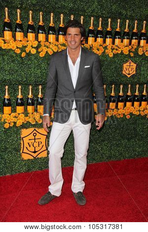 LOS ANGELES - OCT 17:  Nacho Figueras at the Sixth-Annual Veuve Clicquot Polo Classic at the Will Rogers State Historic Park on October 17, 2015 in acific Palisades, CA