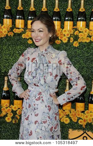 LOS ANGELES - OCT 17:  Lindsay Price at the Sixth-Annual Veuve Clicquot Polo Classic at the Will Rogers State Historic Park on October 17, 2015 in acific Palisades, CA